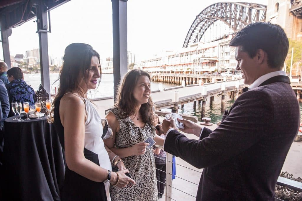 Dare Magician at Pier One Sydney