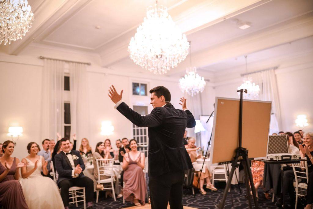 Wedding magician sydney Dare